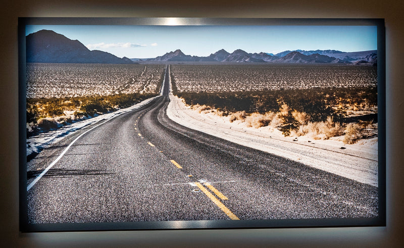"Road to Nowhere #2 / Framed / Edition of 1 / 42"" x 72"" / Archival Pigment Print"