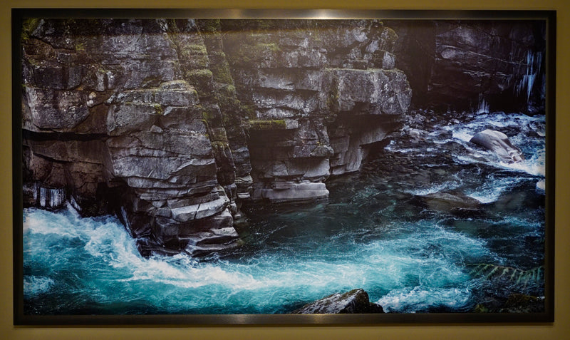 "Coquihalla Canyon, BC / Framed / Edition of 1 / 48"" x 82"" / Archival Pigment Print"
