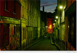 Montmartre at Night / Archival Pigment Print