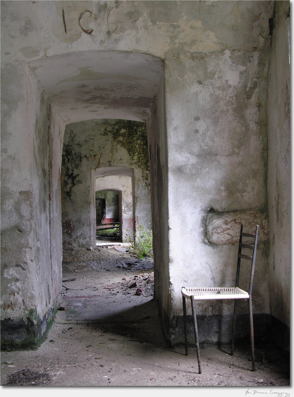 Abandoned Military Base / Venice Italy / Archival Pigment Print