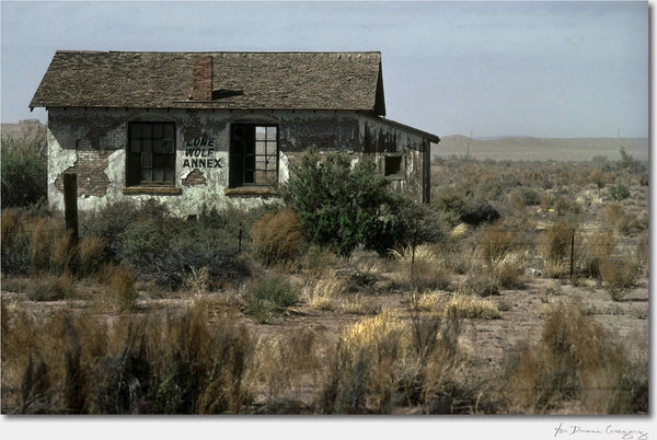 Lone Wolf Annex, New Mexico / Archival Pigment Print