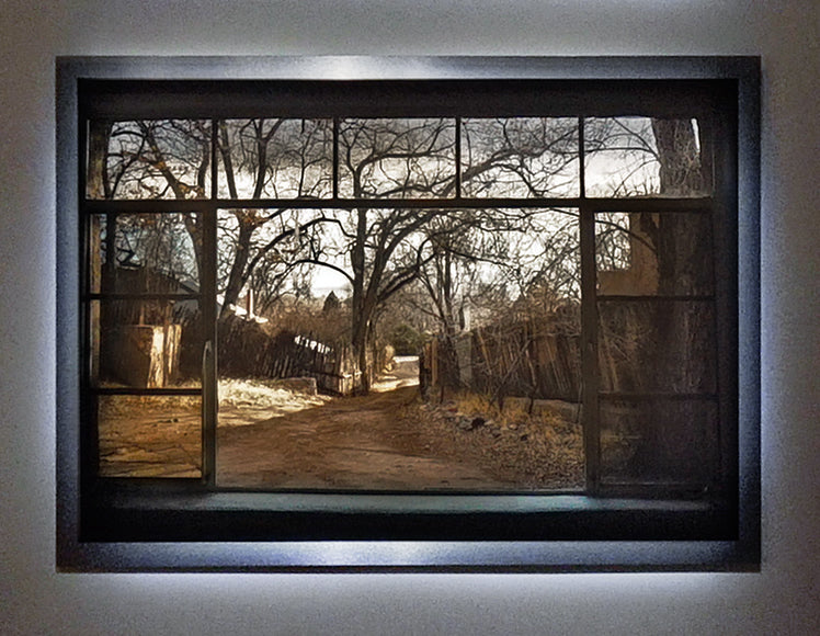 "Santa Fe / Framed / Edition of 1 / 34"" x 48"" / Archival Pigment Print"