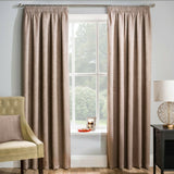 Matrix Woven Thermal Blockout Tape Top Curtains With Embossed Textured Design - Kellyuk