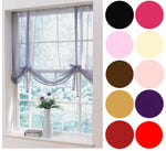 Voile Tie Blind Panel Available In 12 - FREE P+P - Kellyuk