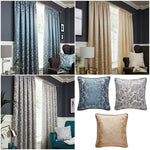BUCKINGHAM DAMASK TAPE TOP LINED CURTAINS IN DUCK EGG, GREY OR NATURAL - Kellyuk
