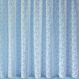 White Lace Window Net Curtain. Sold By The Metre. In 9 Designs & 11 Drops - Kellyuk