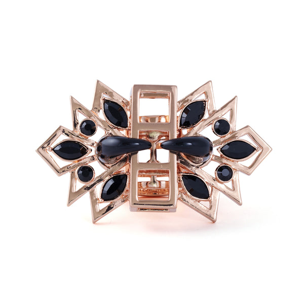 Gatsby Glamour Ring in rose gold - Akollekt - 1