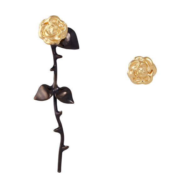Marina's Roses Earrings in Gold - Akollekt - 1