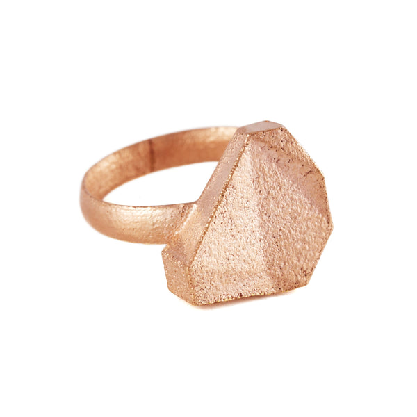 Casa Ring In Rose Gold - Akollekt - 1