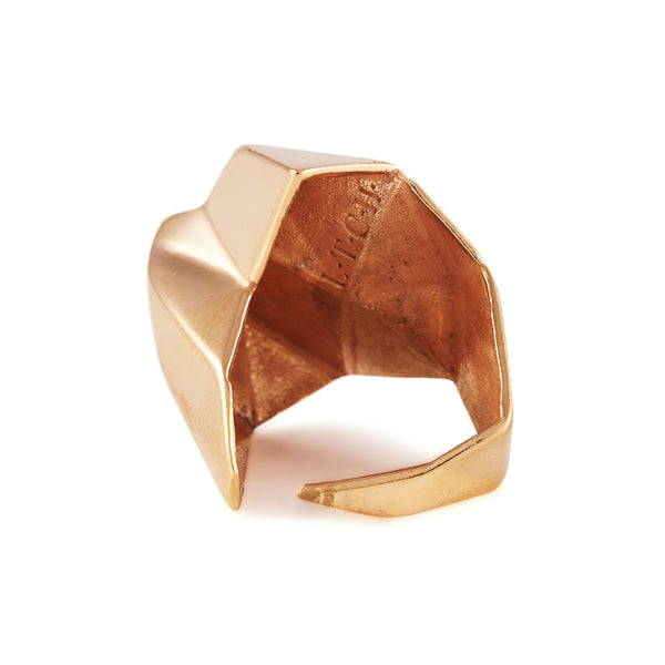 Aneto Ring In Rose Gold - Akollekt - 2