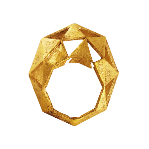 Dodecahedron Mixed Ring - Akollekt - 1