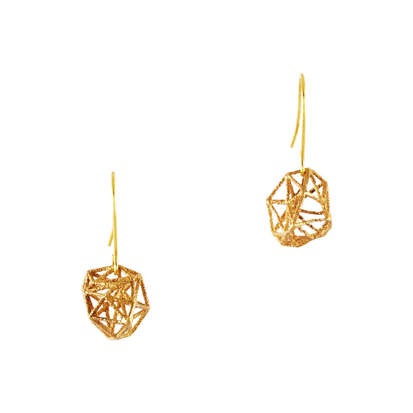 Dodecahedron Earrings - Akollekt - 1