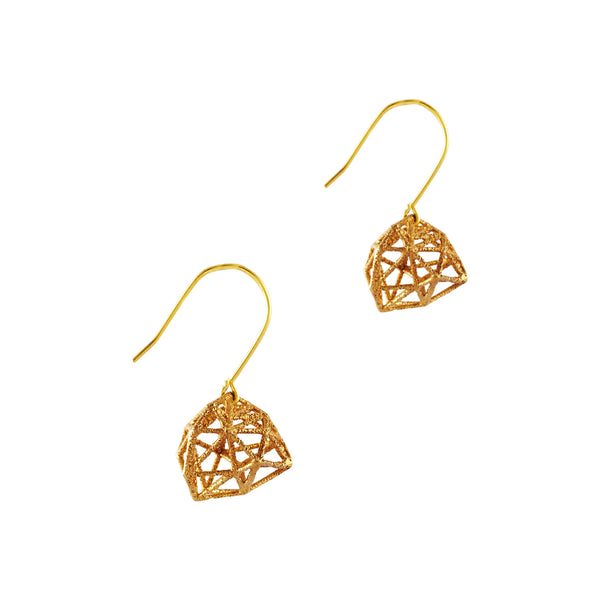 Dodecahedron Earrings - Akollekt - 2