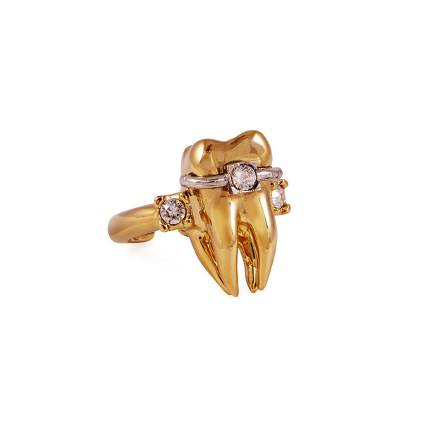 Gold Tooth Ring - Akollekt - 2