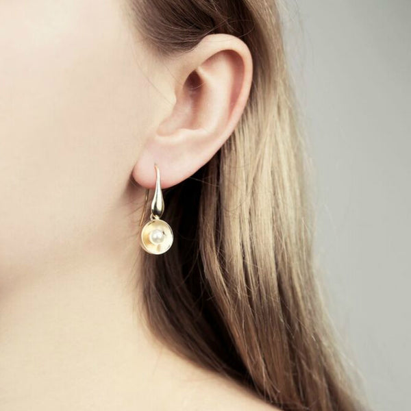 Maria Pearl Earrings - Akollekt - 2