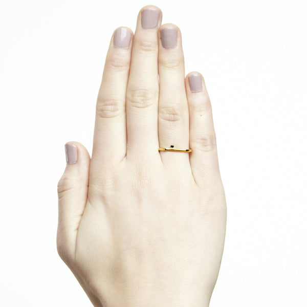 Spotlight Segment Ring Gold - Akollekt - 3