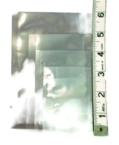 Clear Heat Seal Sample Packet - Mini