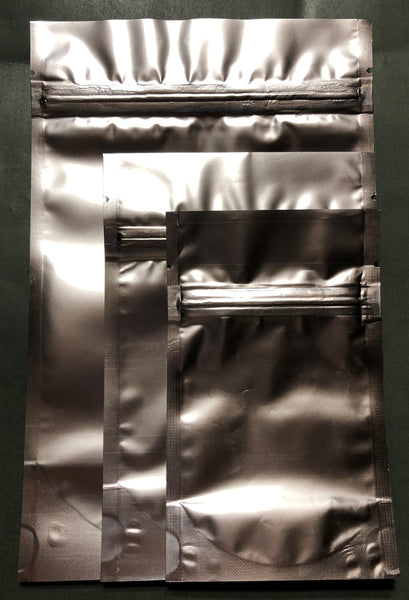 Foil Stand-Up Zipper Pouch - Large