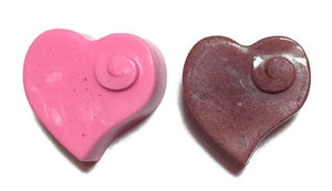 Heart w/Swirl Soap Embeds