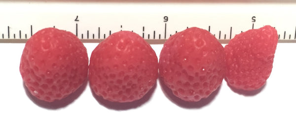 Strawberry Small (formally Medium) Soap Embeds
