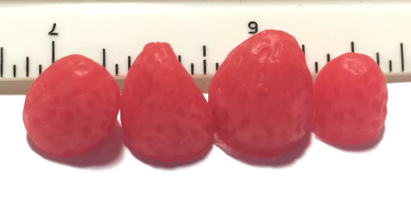 Strawberry Mini Soap Embeds