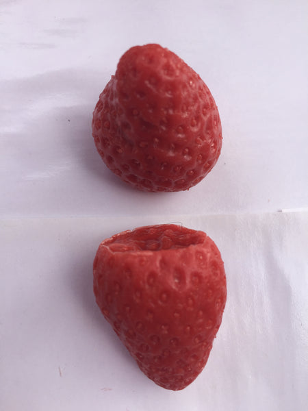 Strawberry Large Soap Embeds