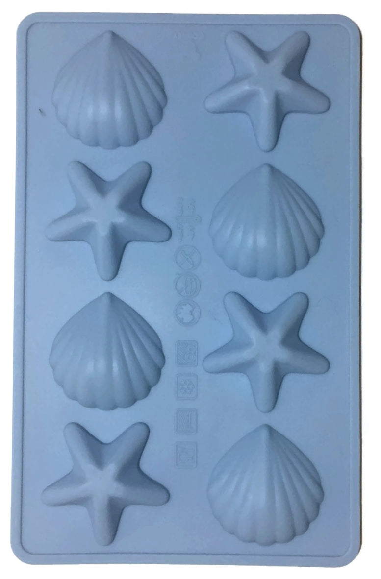 Starfish & Fan Shell Silicone Mold