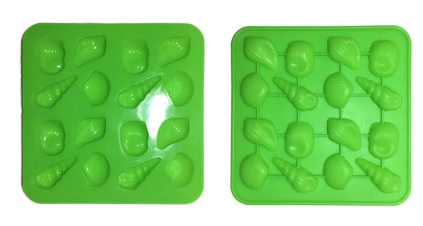 Shell 4 Variety Soap Mold