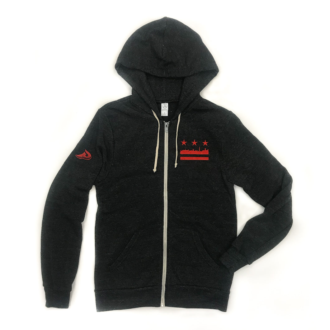 Men's DC Flag Zip Hoody