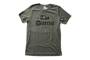 "Bailiwick ""The District"" Olde English Tee"