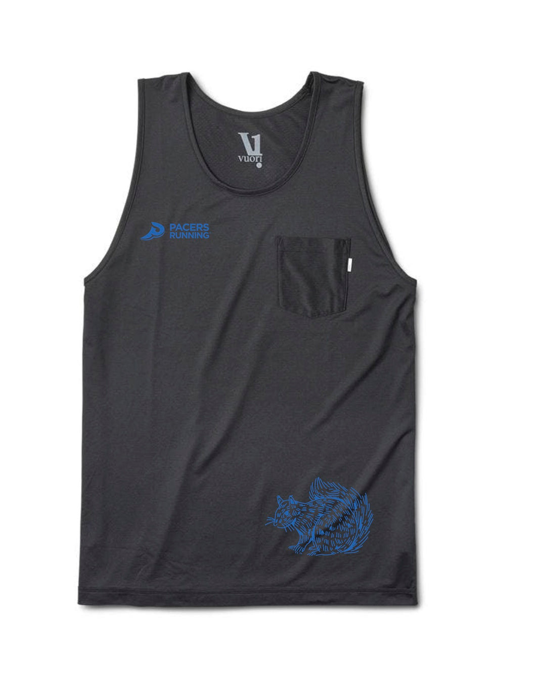 Black Squirrel Performance Tank