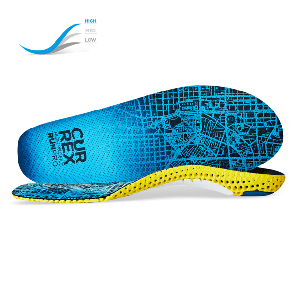 Currex RUNPRO Insoles - High Profile