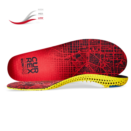 Currex RUNPRO Insoles - Low Profile