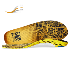 Currex RUNPRO Insoles - Medium Profile