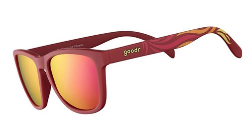 Goodr Sunglasses - Feather O Phoenix