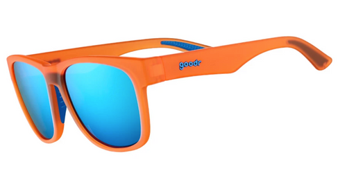 Goodr BFG Sunglasses - That Orange Crush Rush