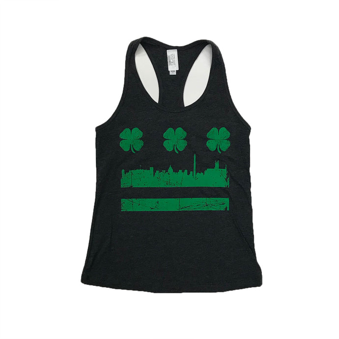 Women's DC Flag Shamrock Tank