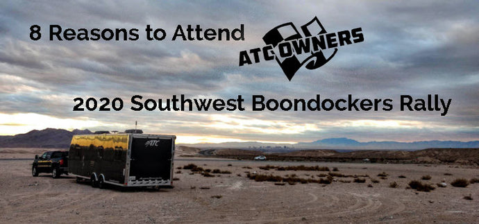 8 Reasons to Attend Southwest Boondockers Rally