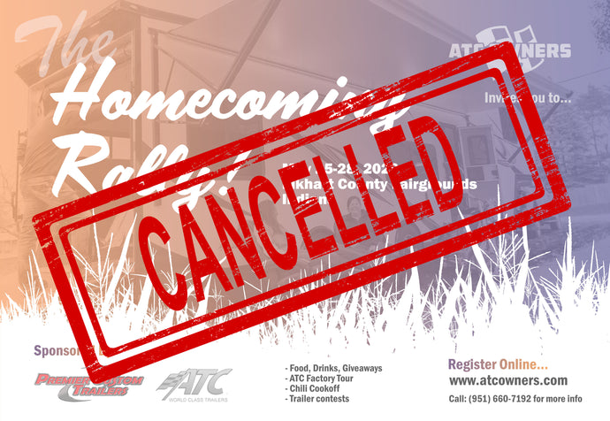 2020 Homecoming Rally is Canceled