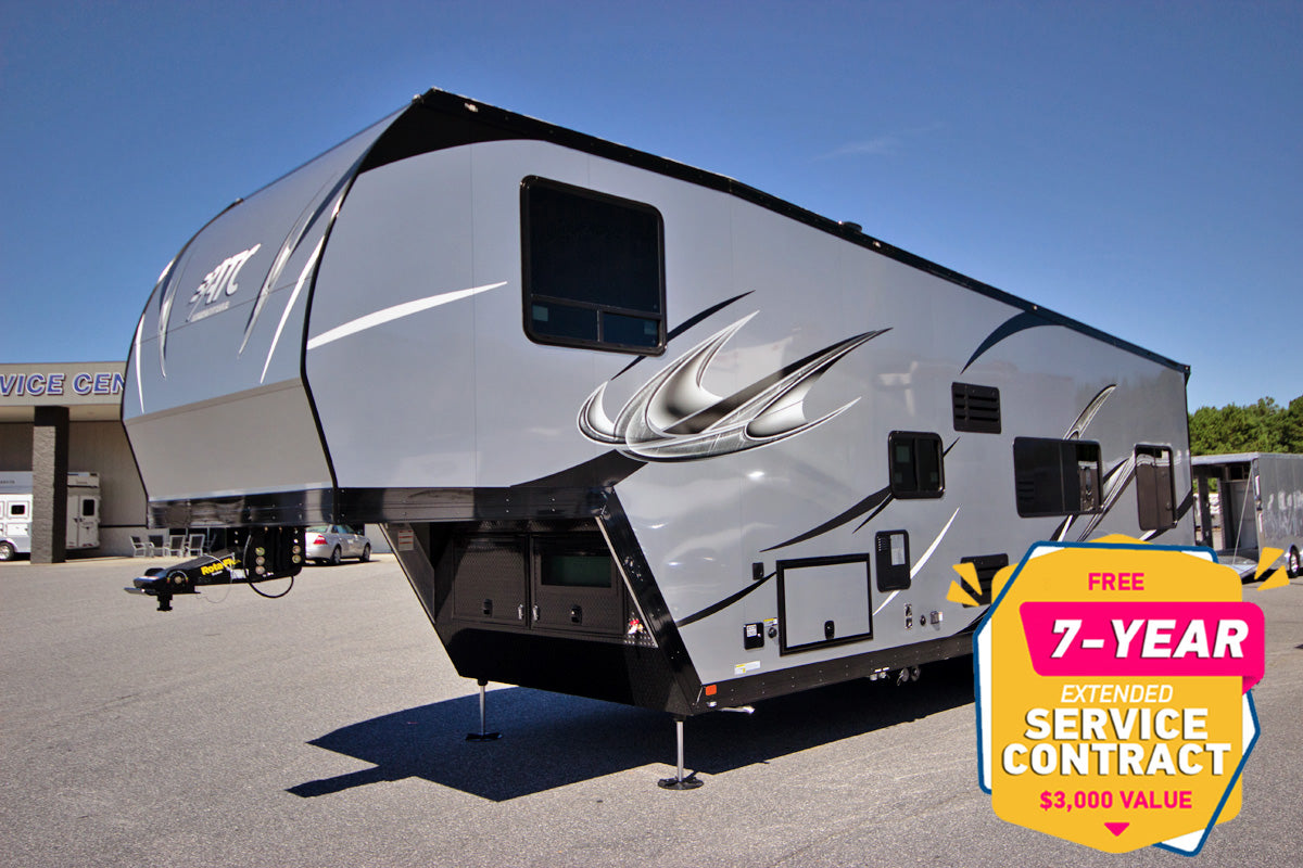 atc toy hauler 36 foot fifth wheel for sale