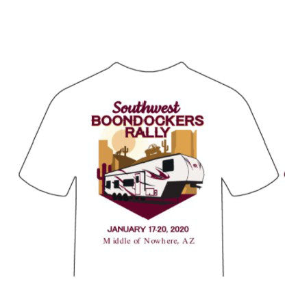2020 Rally T-shirt Mens