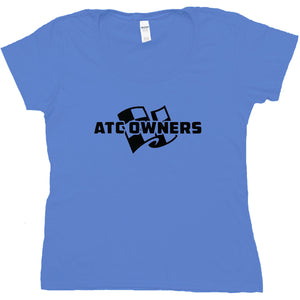 ATC Owners Logo T-Shirt - Royal (Womens)