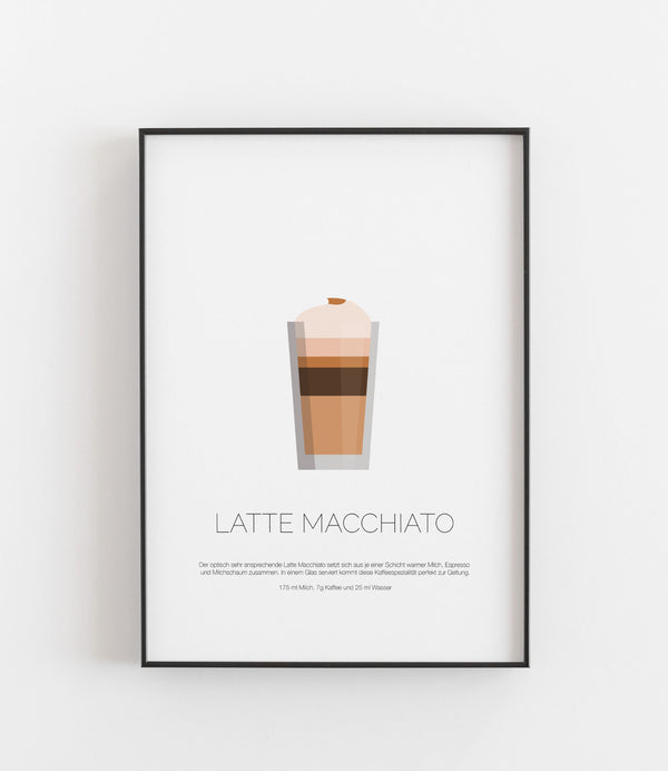 Latte Macchiato Illustration