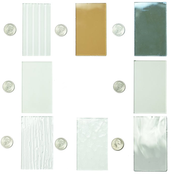 Glass Sample - All Glass Samples - Pinky's Iron Doors