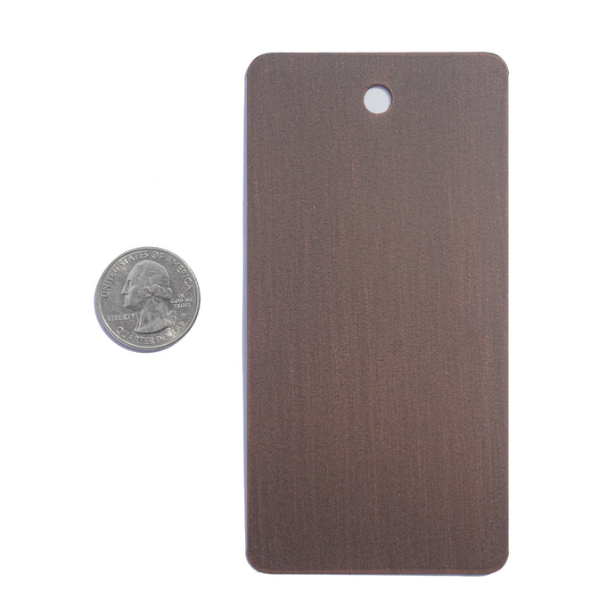 Color Sample - Heavy Bronze - Pinky's Iron Doors
