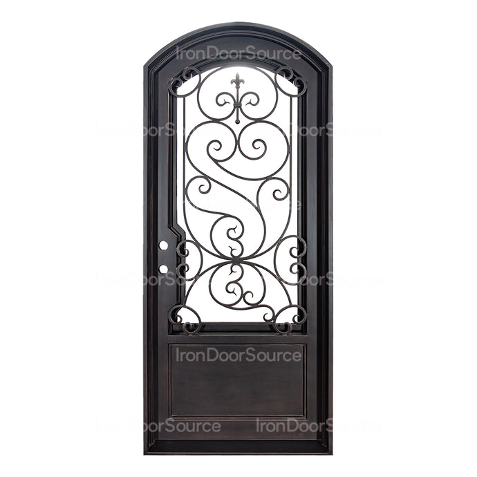 Beverly - Single Arch - Iron Door Source
