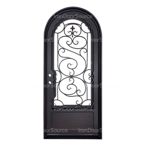 Beverly Thermally Broken - Single Full Arch - Iron door Source