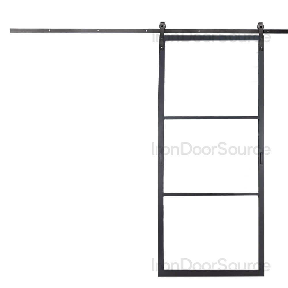 Air 4 Interior - Barn Door - Iron Door Source