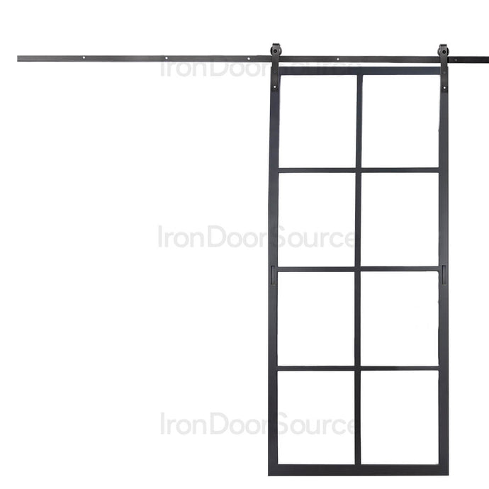 Air 5 Interior - Barn Door - Iron Door Source