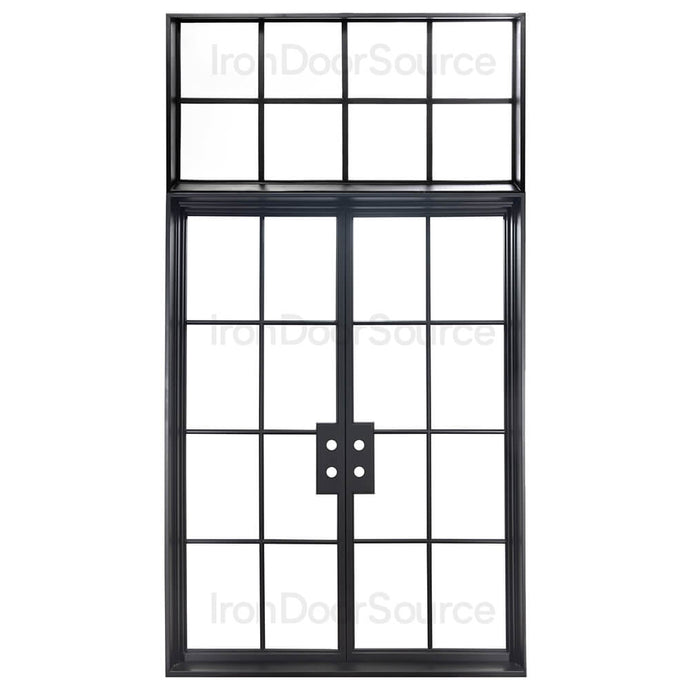 Air 5 Flat Top - w/ Flat Top Transom - Iron Door Source